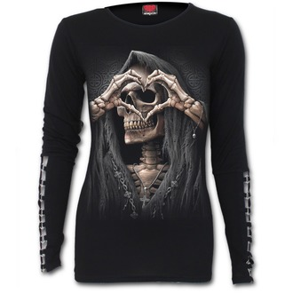 tričko dámské s dlouhým rukávem SPIRAL - DARK LOVE, SPIRAL