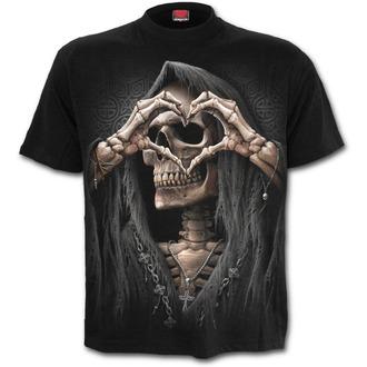 tričko pánské SPIRAL - DARK LOVE - Black - T147M101