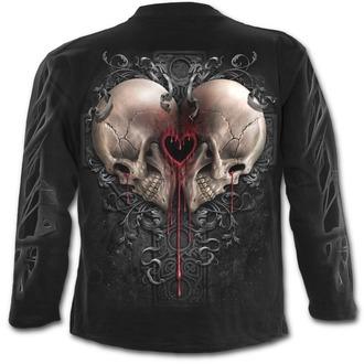 tričko pánské s dlouhým rukávem SPIRAL - DARK LOVE - Black - T147M301