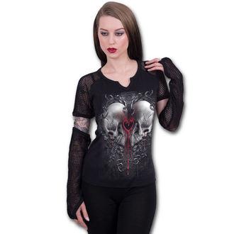 tričko dámské s dlouhým rukávem SPIRAL - LOVE AND DEATH, SPIRAL