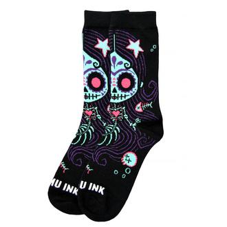 ponožky unisex AKUMU INK - La Sirena - 14S04