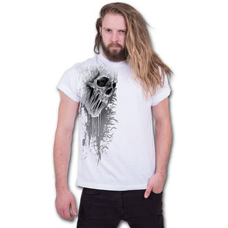tričko pánské SPIRAL - BAT CURSE - White - E026M137