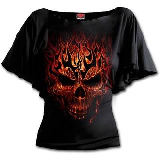 tričko dámské SPIRAL - SKULL BLAST - Black - T152F719