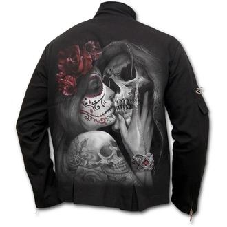 bunda pánská SPIRAL - DEAD KISS - Orient Goth - Black, SPIRAL