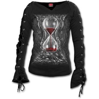 tričko dámské s dlouhým rukávem SPIRAL - SANDS OF DEATH - Black, SPIRAL