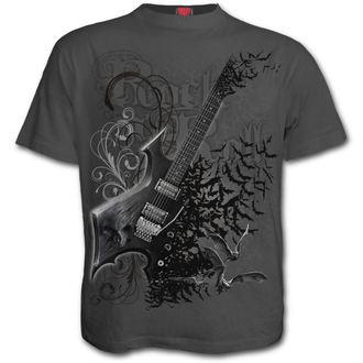 tričko pánské SPIRAL - NIGHT RIFFS - Charcoal, SPIRAL