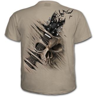 tričko pánské SPIRAL - NIGHT RIFFS - Stone, SPIRAL