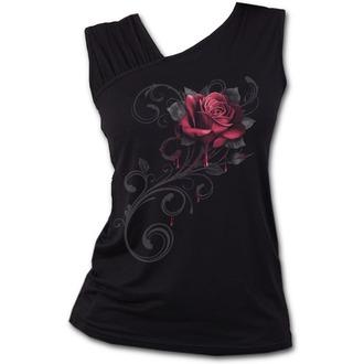 tílko dámské SPIRAL - ROSE SLANT - Black, SPIRAL