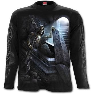 tričko pánské s dlouhým rukávem SPIRAL - UNFORGIVEN - Black, SPIRAL