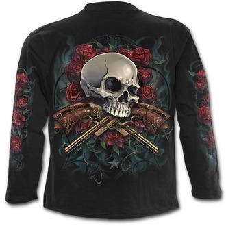 tričko pánské s dlouhým rukávem SPIRAL - LORD HAVE MERCY - Black