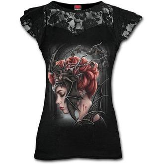 tričko dámské SPIRAL - QUEEN OF THE NIGHT -  Black, SPIRAL