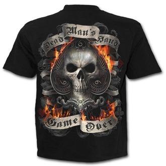 tričko pánské SPIRAL - ACE REAPER - Black