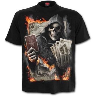 tričko pánské SPIRAL - ACE REAPER - Black, SPIRAL