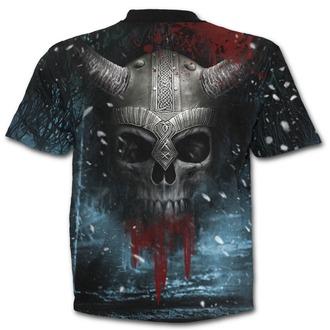 tričko pánské SPIRAL - VIKING WRAP - Black, SPIRAL