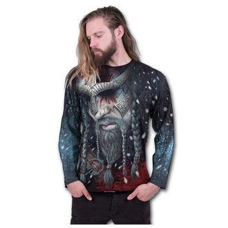tričko pánské s dlouhým rukávem SPIRAL - VIKING WRAP - Black, SPIRAL