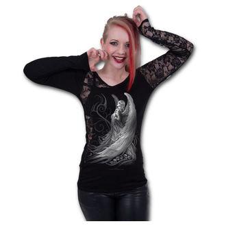 tričko dámské s dlouhým rukávem SPIRAL - CAPTIVE SPIRIT - Black, SPIRAL