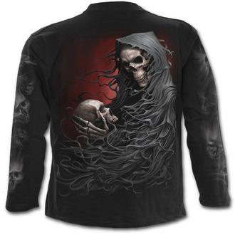 tričko pánské s dlouhým rukávem SPIRAL - DEATH ROBE - Black, SPIRAL