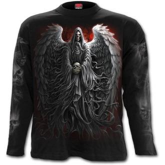 tričko pánské s dlouhým rukávem SPIRAL - DEATH ROBE - Black