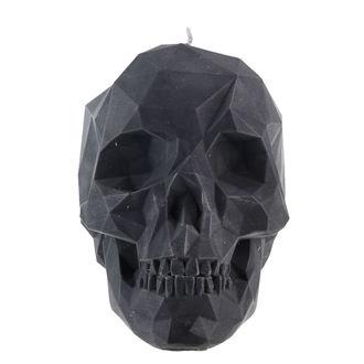 svíčka Skull - Black