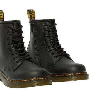 boty dětské DR. MARTENS - 8. dírkové - 1460 J SOFTY T BLACK, Dr. Martens