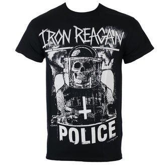 tričko pánské IRON REAGAN - RIOT COP - JSR, Just Say Rock, Iron Reagan