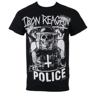 tričko pánské IRON REAGAN - RIOT COP - JSR - IRR126