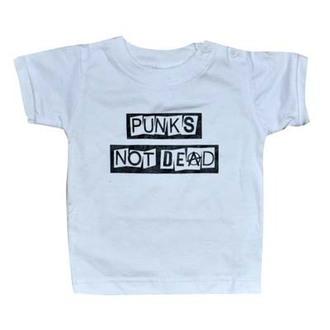 tričko dětské ROCK DADDY - Punk's Not Dead - White - 16007-008