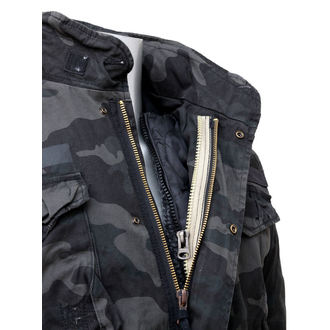 bunda pánská SURPLUS - Regiment M65 - BLACK CAMO