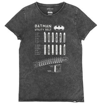 tričko pánské BATMAN - ANTRACITE