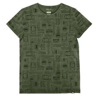 tričko pánské BATMAN - OLIVE, NNM, Batman