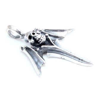 přívěšek stříbrný LEBKA 24 - 168