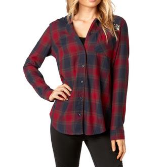košile dámská FOX - Deny - Dark Red, FOX