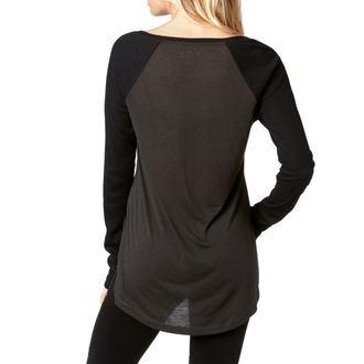 tričko dámské s dlouhým rukávem FOX - Certain - Black Vintage, FOX