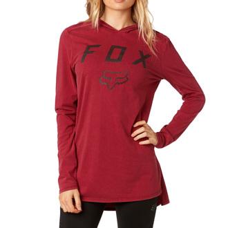 tričko dámské s dlouhým rukávem FOX - Axiom - Dark Red, FOX