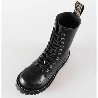 boty STEEL - 10 dírkové černé ( 105/106 Black)