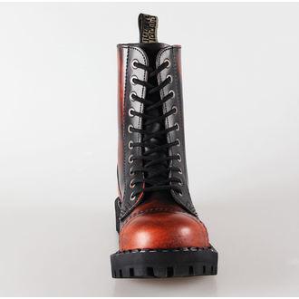 boty STEEL - 10 dírkové oranžové (105/106 Orange)