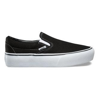 boty dámské VANS - UA CLASSIC SLIP-ON P Black, VANS