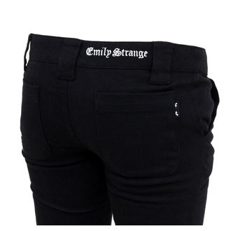 kalhoty dámské EMILY THE STRANGE - Emily Mad Youth Plaid Stoveppie Jeans