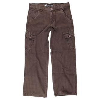 kalhoty dětské FUNSTORM - DESTYL 04 - Hnědé