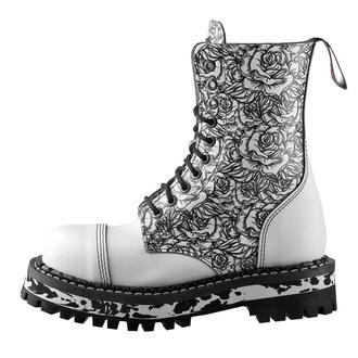 boty STEADY´S - 10 dírkové - White Rose, STEADY´S