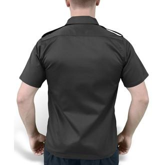 košile SURPLUS - US Hemd 1/2 - BLACK - 06-3582-03