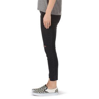 kalhoty dámské (jeansy) VANS - DESTRUCTED SKINNY - Smoke, VANS