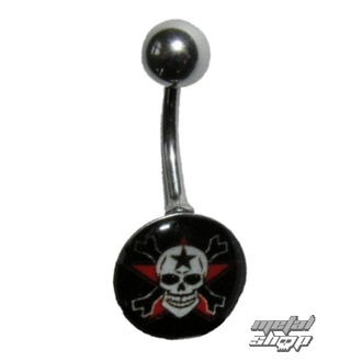 piercingový šperk Lebka - 1PCS - L 096