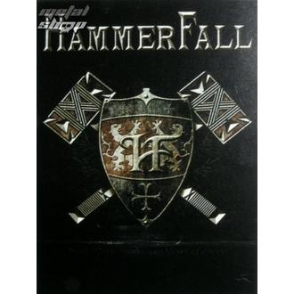 vlajka Hammerfall - Steel meets Steel, HEART ROCK, Hammerfall