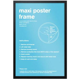 rám na plakát (61x91,5 cm) - Black - GB Posters -  FMMXA1BK