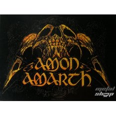 vlajka Amon Amarth - Skulls, HEART ROCK, Amon Amarth
