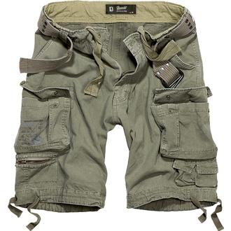 kraťasy pánské BRANDIT - Savage Vintage Shorts Oliv - 2001/1