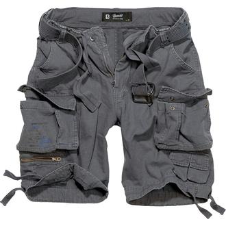 kraťasy pánské BRANDIT - Gladiator Vintage Shorts Anthracite - 2001/5