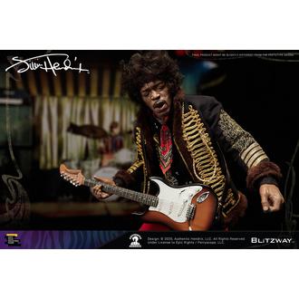 figurka (dekorace) Jimi Hendrix, NNM, Jimi Hendrix