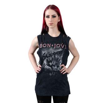 tílko dámské BON JOVI - SLIPPERY WHEN WET - PLASTIC HEAD, PLASTIC HEAD, Bon Jovi